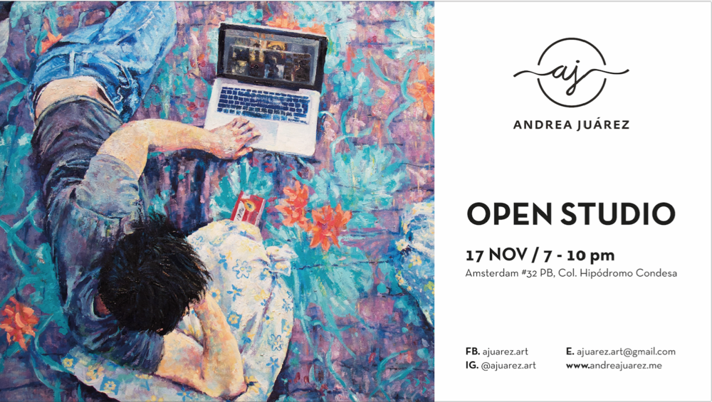 OPEN STUDIO, Andrea Juárez Art 2016