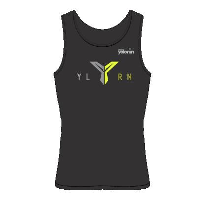 YOLO Run Singlet (Front)