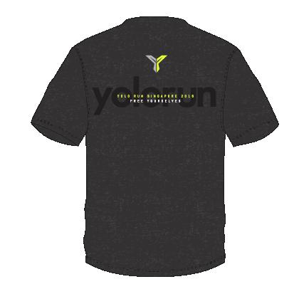 YOLO Run T恤 (背面)