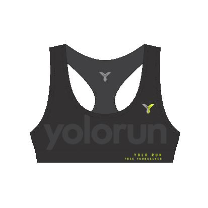 YOLO Run 運動胸圍 (正面)