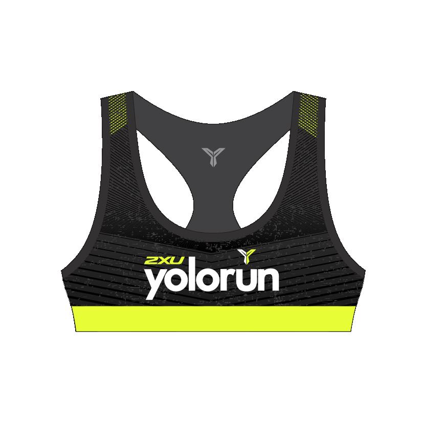 YOLO Sports Bra (Front)