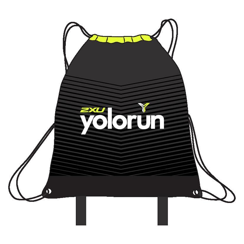 Drawstring Yoga Bag (Front)