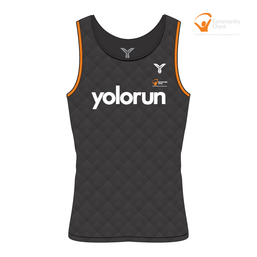 SGD$14.90 Beneficiary Men Singlet (Front)
