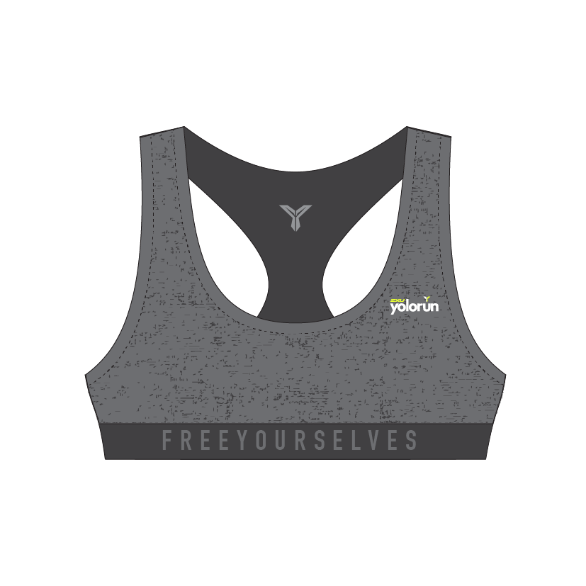 SGD$19.90 Free Yourselves Sports Bra (Front)
