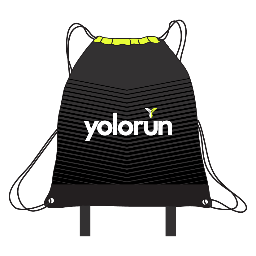 Drawstring Fitness Bag (Front)