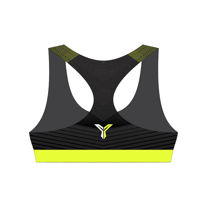 YOLO Run Sports Bra (Back)