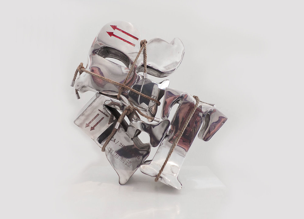 Bubble Art (2009) | aluminium, chanvre | 50 x 40 x 20 cm | 1/1
