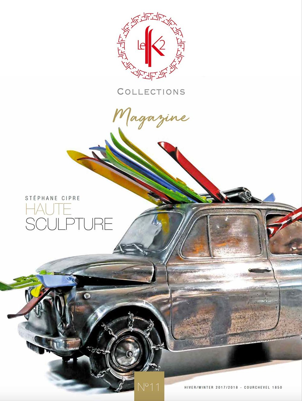cipre_artiste_sculpteur_exposition_logo_etablissement_luxe_palace_courchevel_le_k2_collections_parutions_couverture_fiat_500_go_to_ski_le_k2_magazine.jpg