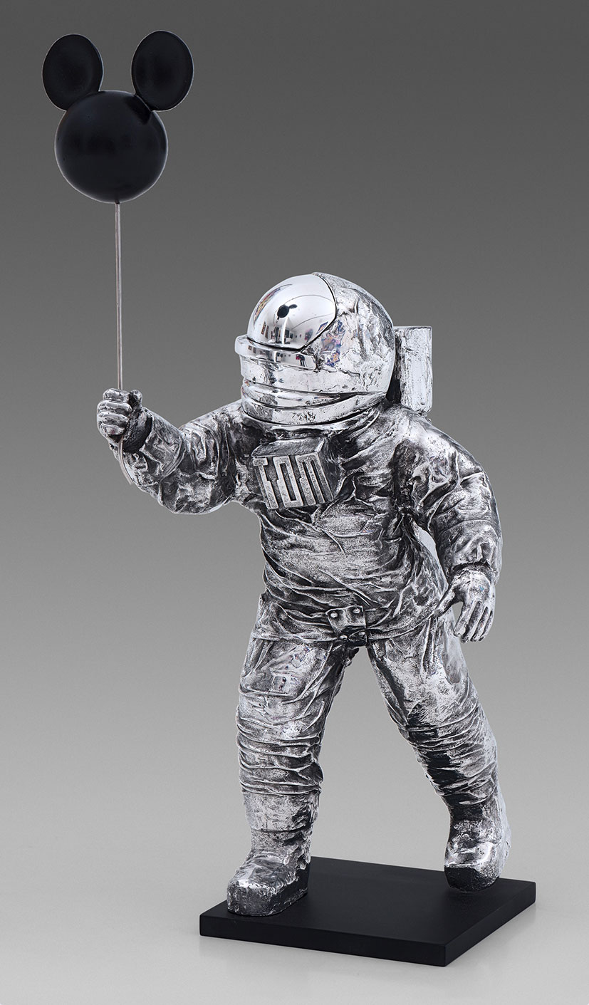 Life On Mars ?  (2018) | aluminium |85 x 35 x 40 cm | oeuvre originale