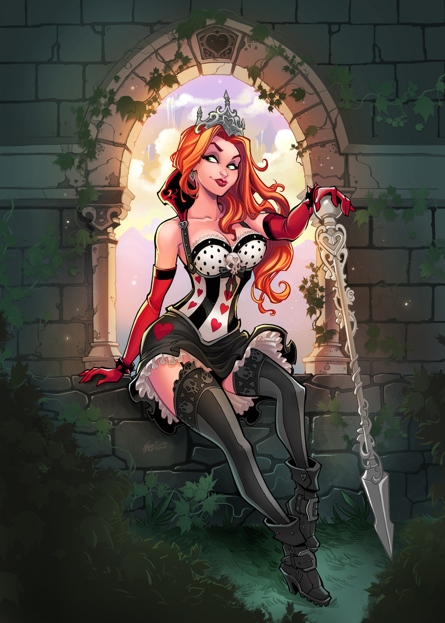 Wonderland #49 - Incentive Cover Published by ZENESCOPE