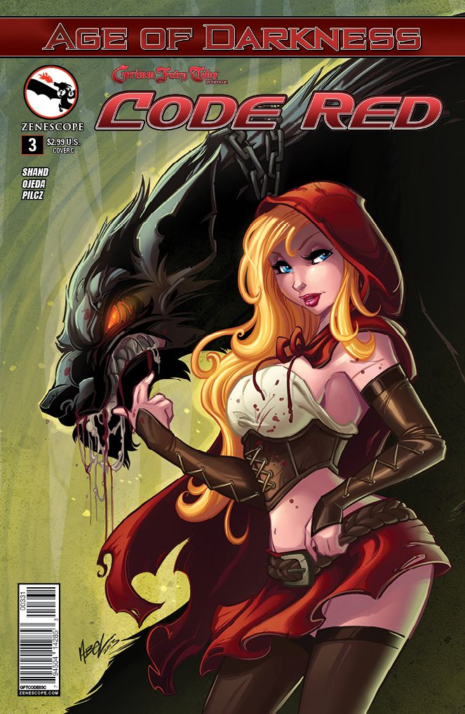 CODE RED Incentive Cover - ZENESCOPE