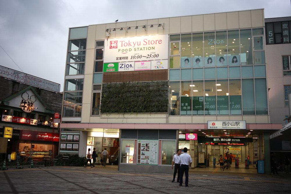 Nishikoyama station area 1