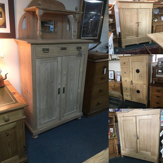 Fresh in from the EU these knockdown Wardrobes and other items of pine!