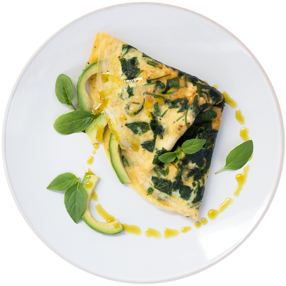 THE BEST DAMN OMELETTE YOU'VE EVER HAD