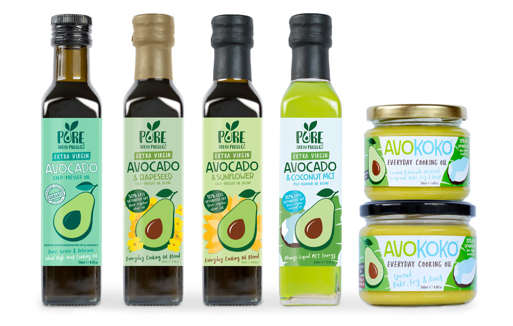 Pure South Press Extra Virgin Avocado Oil Blends