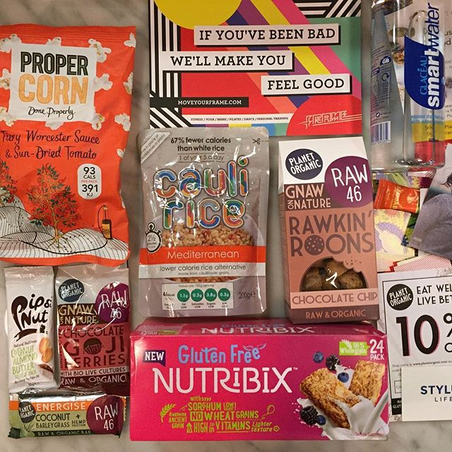 And last but certainly not least, our amazing goodie bag provided by @planetorganic and filled with treats and discounts from @propercorn, @pipandnut, @cauli_rice, @nutribix, @glaceau_sw, @wearestylus, @pollenandgrace, @cuckoo_foods, @botaniclab, @adunaworld, @hello.elvie, @hotpodyoga, @iquitsugar, @moveyourframe #businessofwellness #bowsummit #goodnight