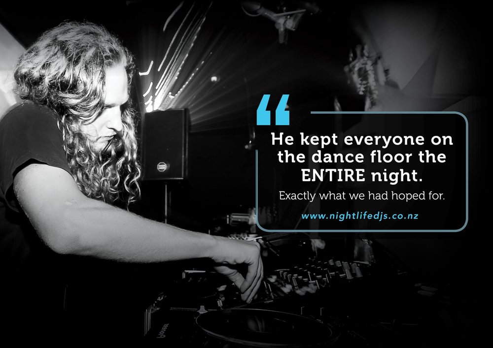 Wedding DJ - Invercargill Queenstown Wanaka NZ