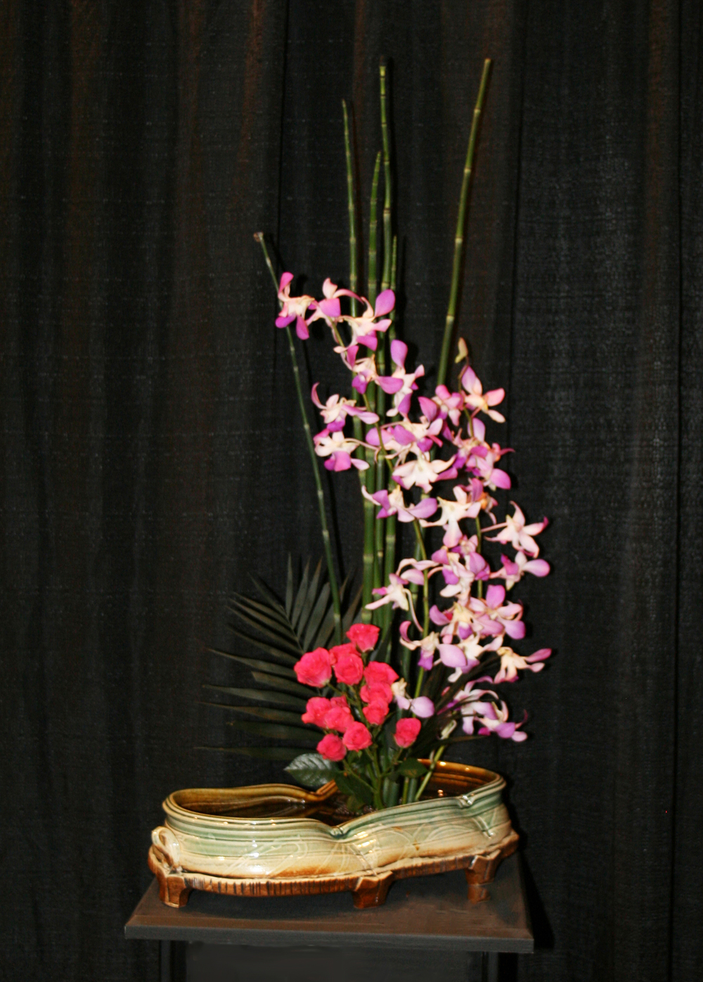 Container by Sue Grier, Flowers by Nancy Gettys