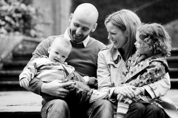 Family portrait photography - surrey