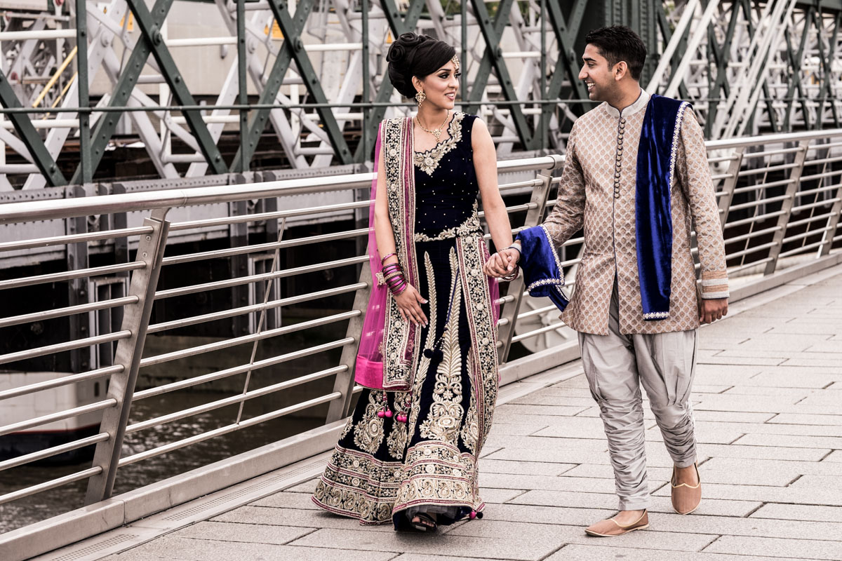 asian engagement photography in london