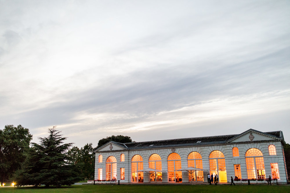 kew garden wedding reception