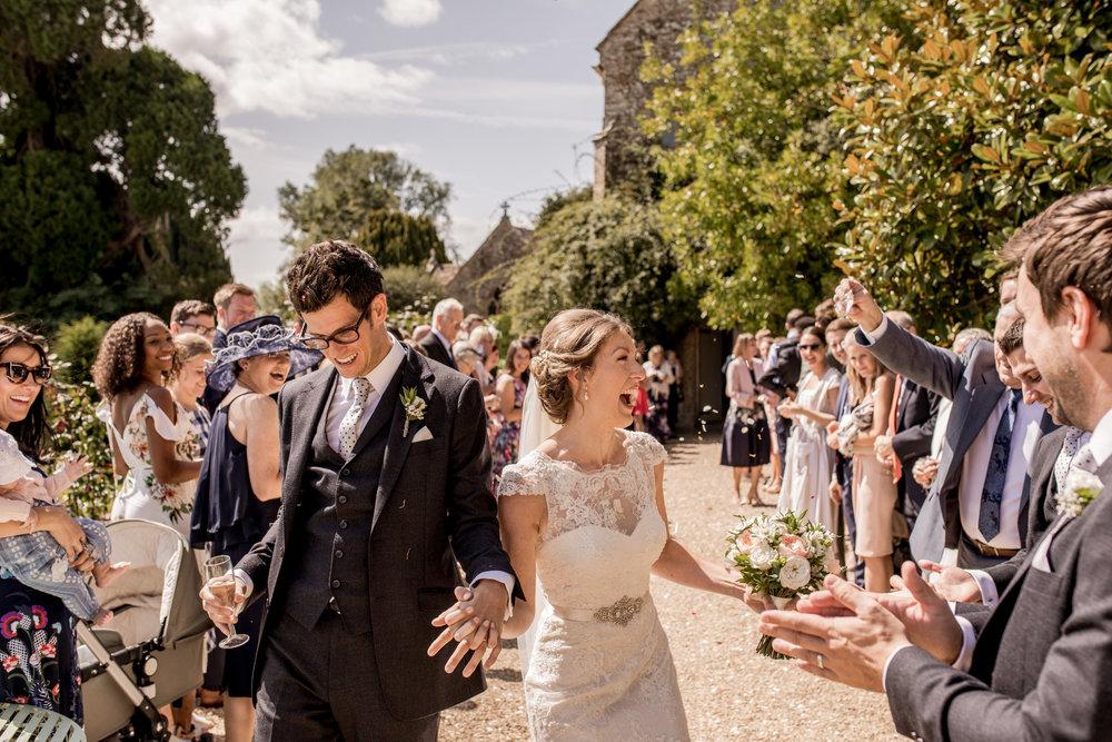 Brympton House colour Wedding Photos Somerset