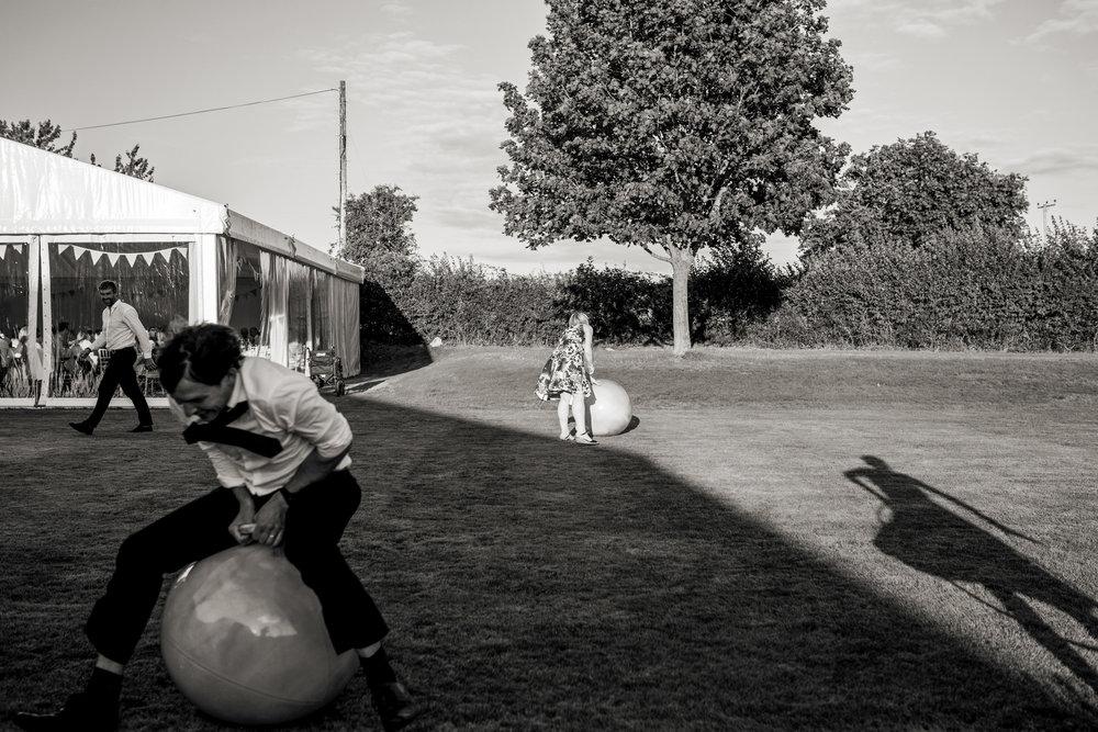 wedding garden game shot