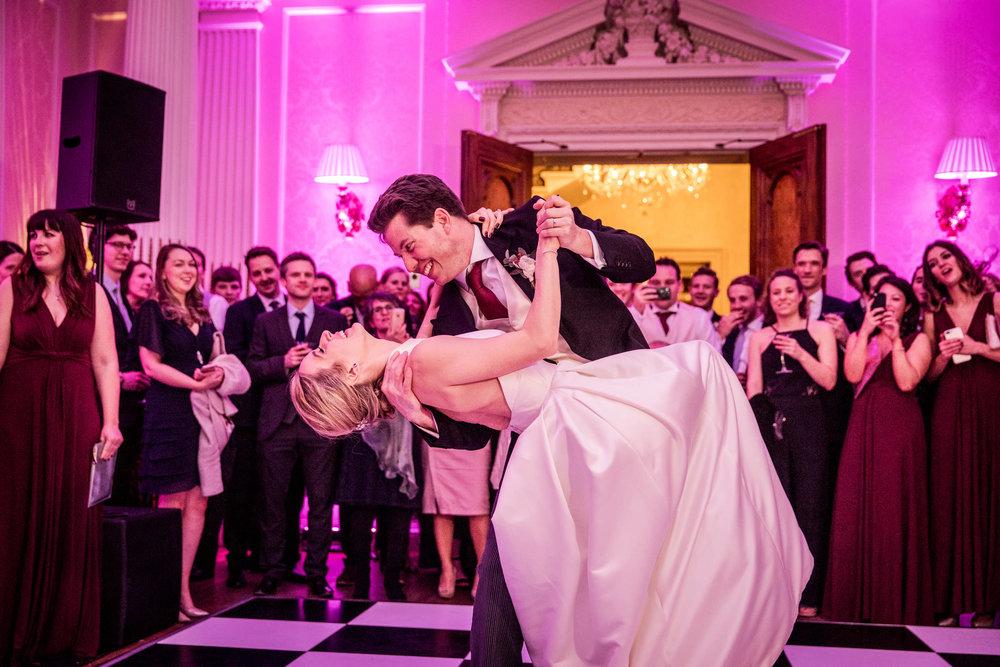 Hedsor House Wedding first dance
