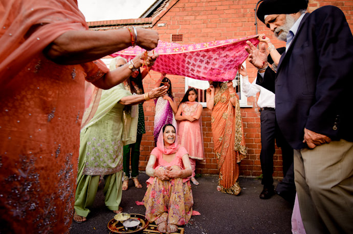 sikh wedding photographs