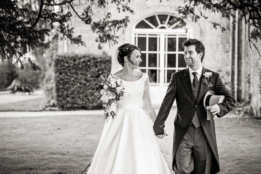 north cadbury court bride and groom
