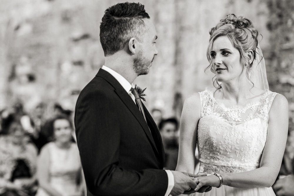 Lulworth Castle civil Wedding ceremony