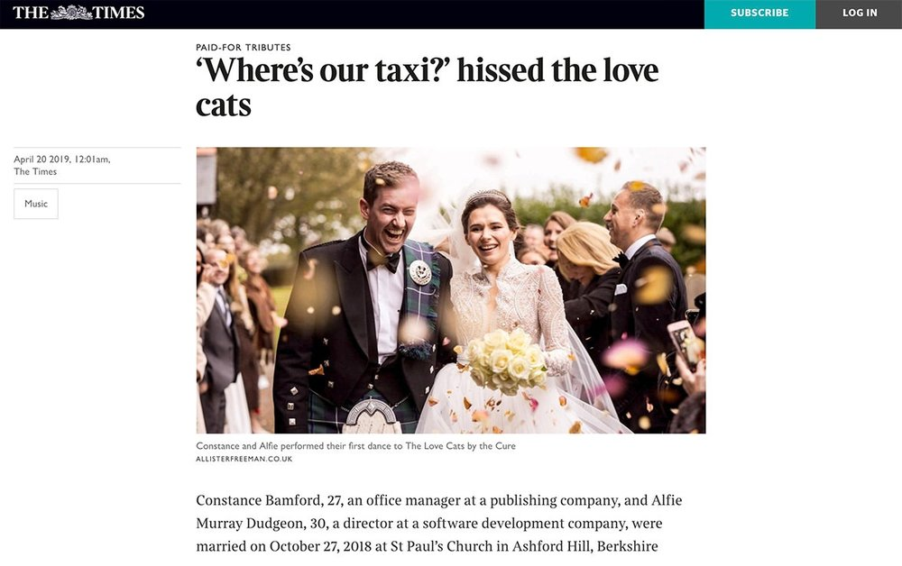 The+Times+Wedding+Photography+Feature