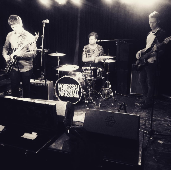 Soundcheck at The Black Heart, Camden