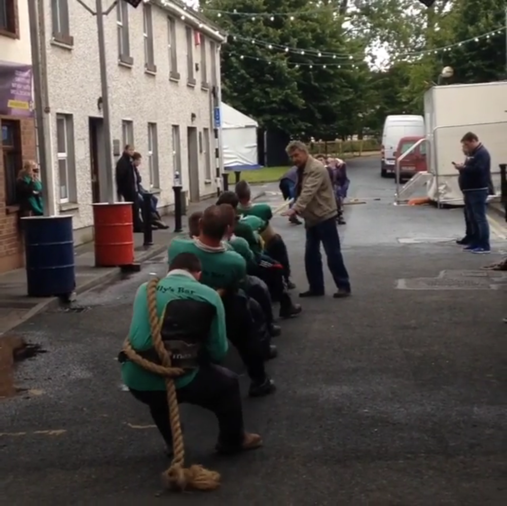 Tug'O'War in Tullamore