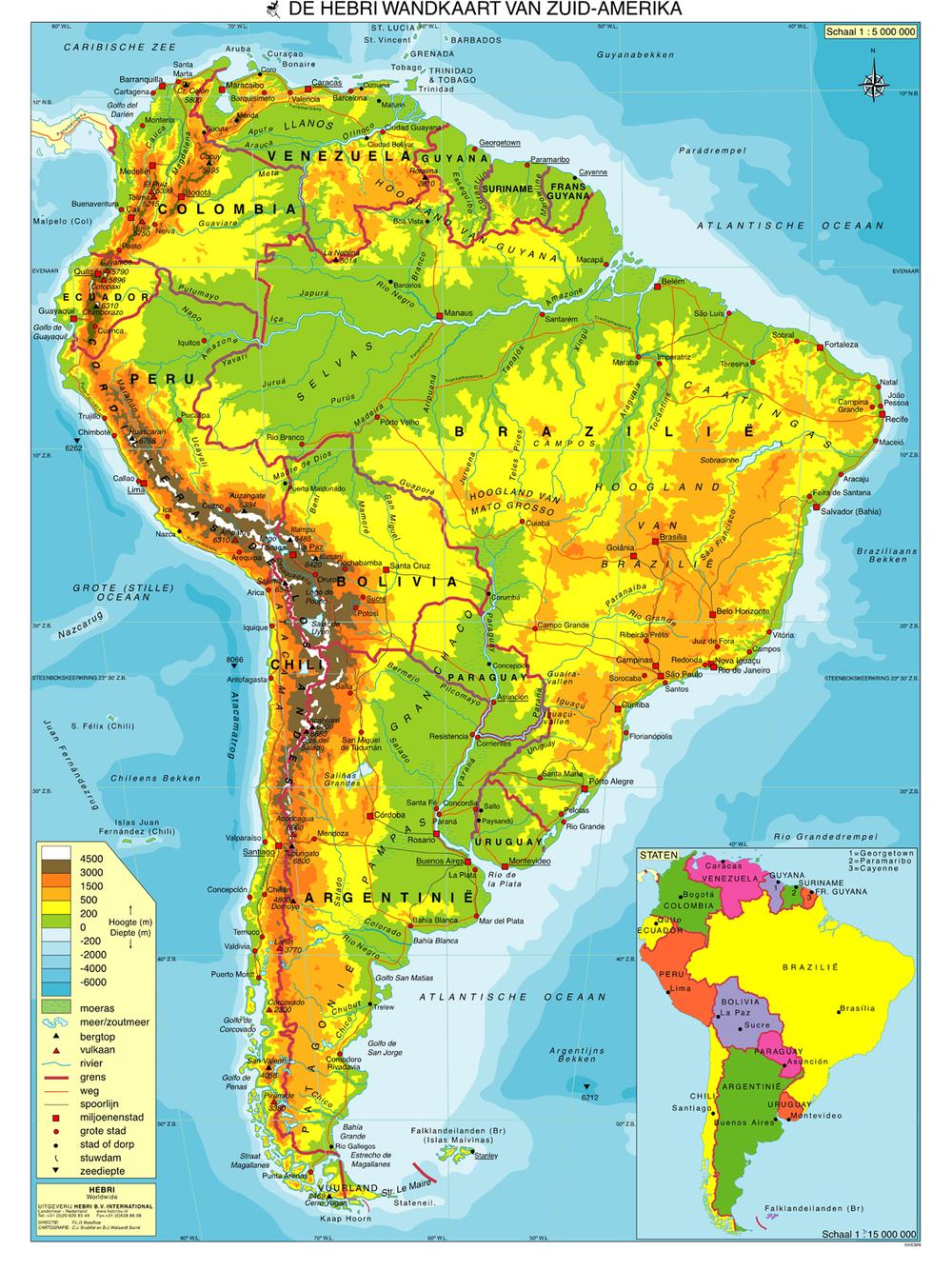 Zuid-Amerika (eindexamen 2017)