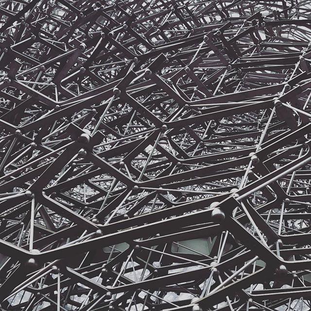 #sculpture #architecture #metal #hive