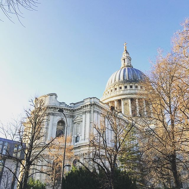 St. Paul's in the morning light #architecture #london #morning #light