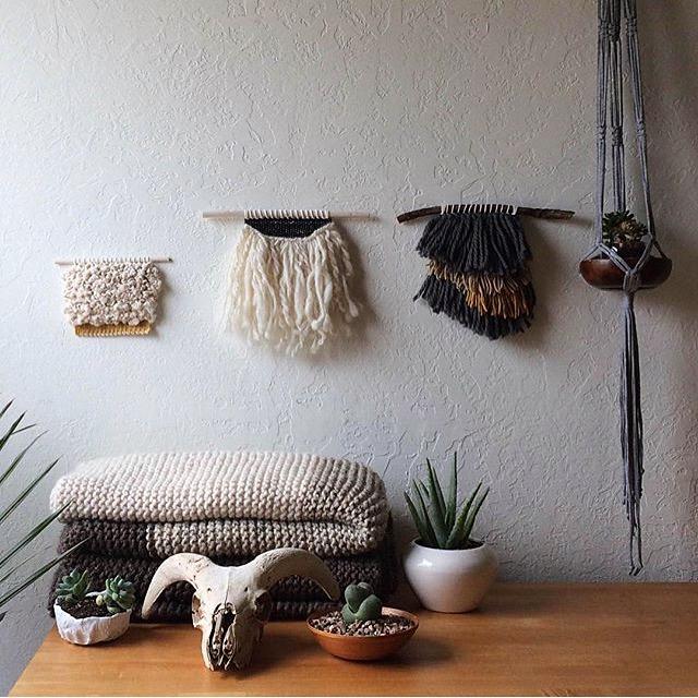 mini weavings house sparrow nesting