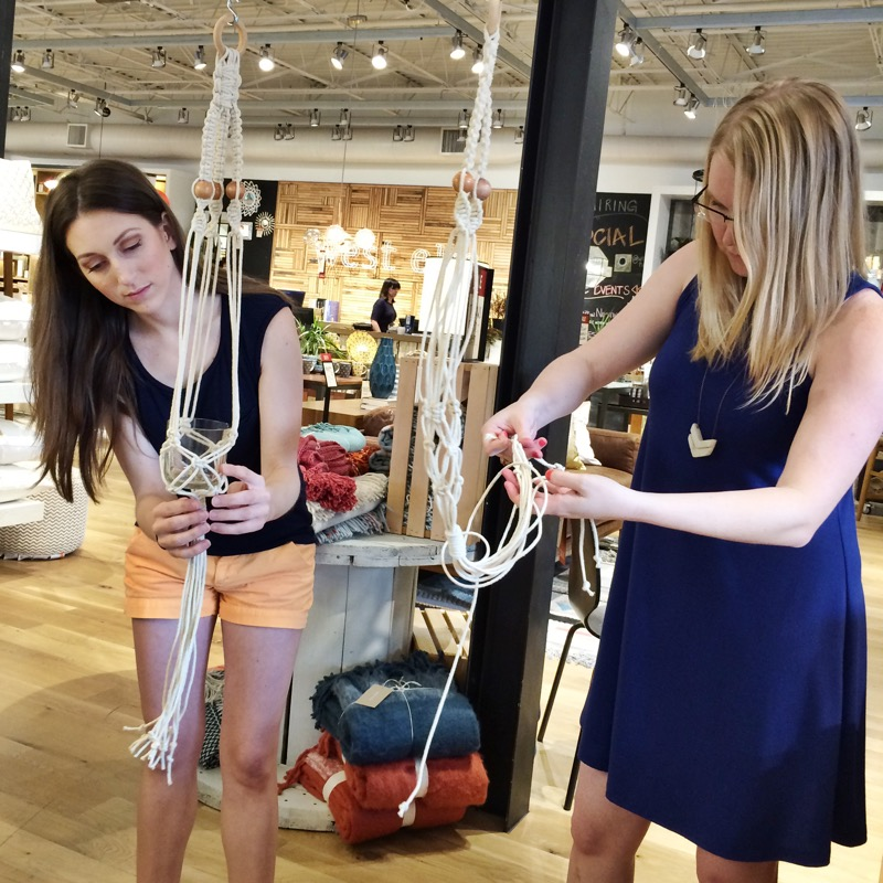 tulsa macrame workshop west elm house sparrow nesting