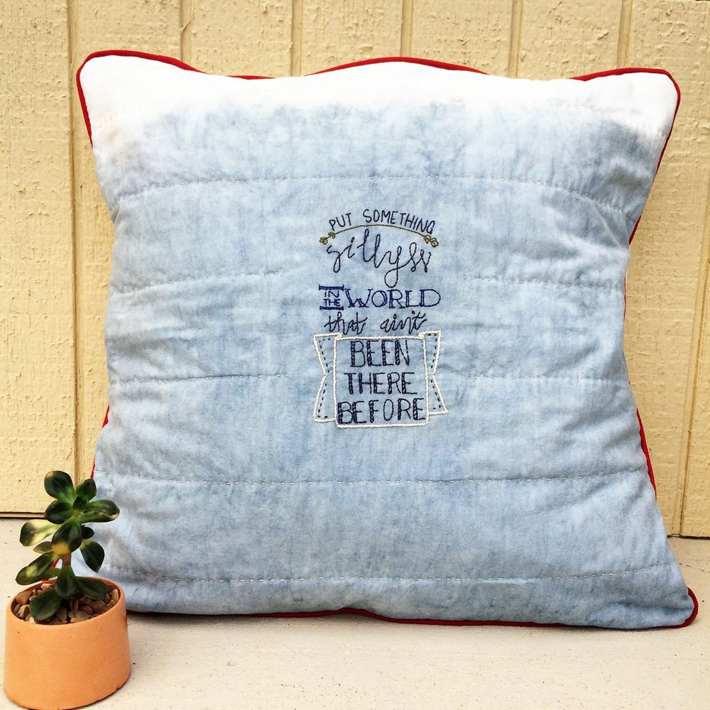 How To Literary Embroidery Embroidery Ideas Book Quote