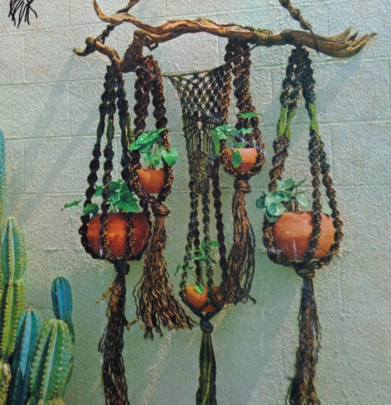 vintage macrame hanging planters.jpg