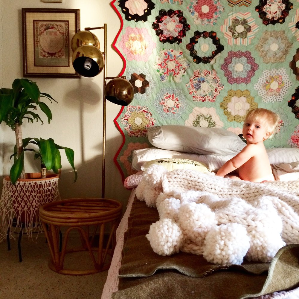 Retro Den Tulsa Cozy 80s Boho Bedroom