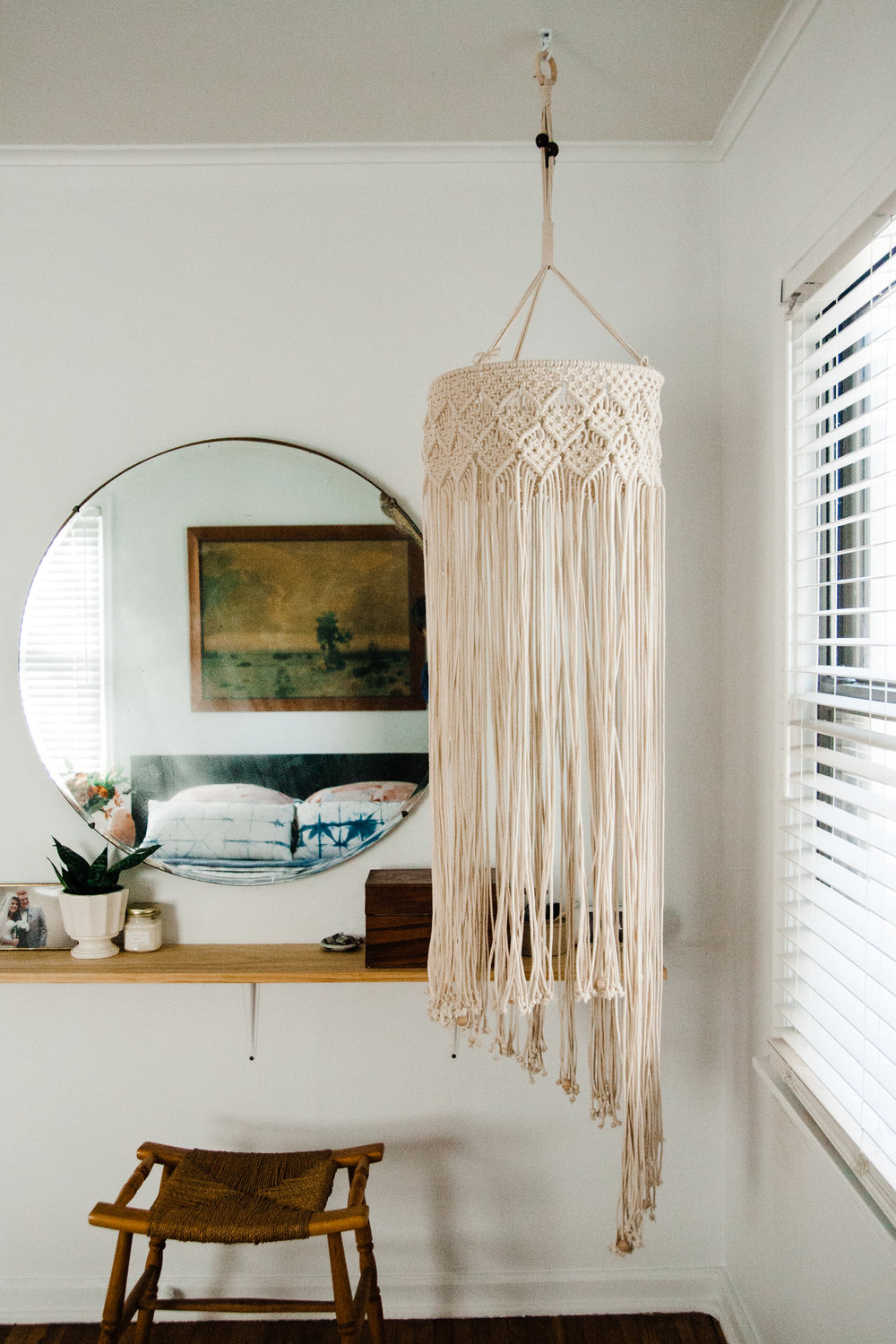 macrame chandelier in modern minimal bedroom.jpg