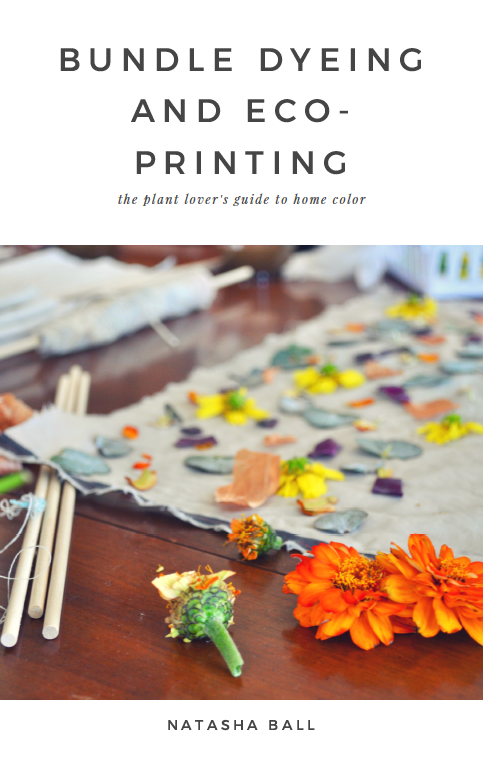 bundle dyeing and eco printing tutorial ebook