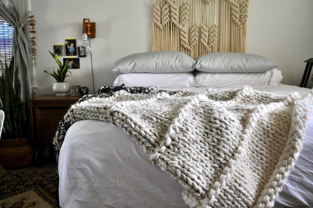 Knit Blanket Knitalong