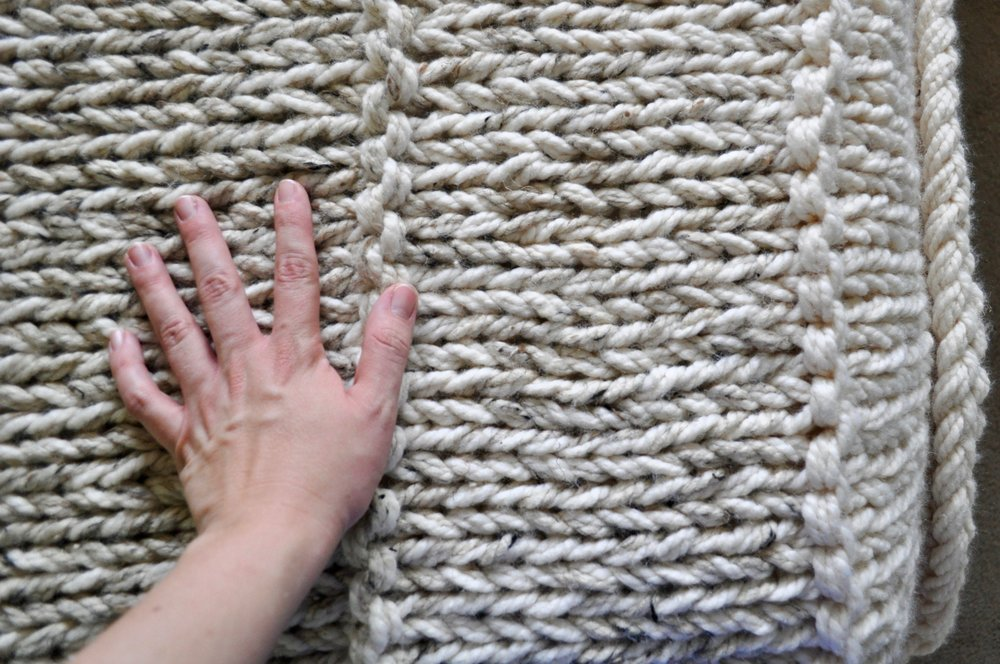 Chunky Knit Blanket Kit DIY Project Pattern.jpg