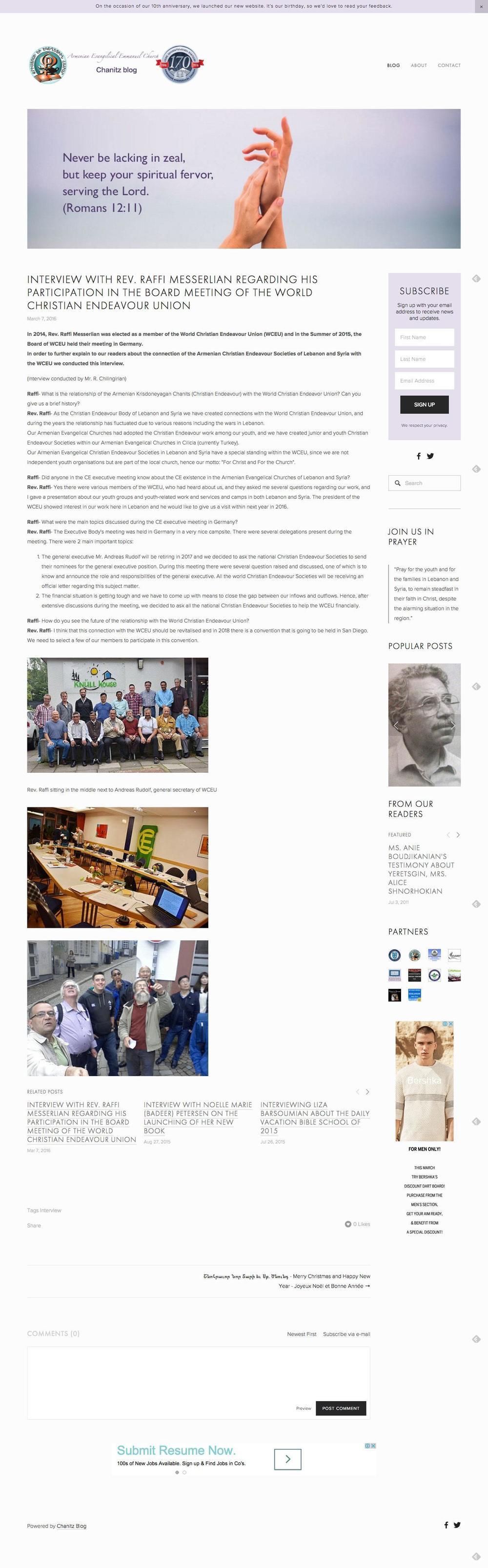 New-Chanitz-Website