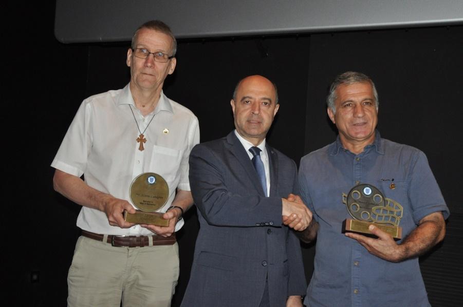Svante Lundgren, Rev. Paul Haidostian,Manvel Saribekyan