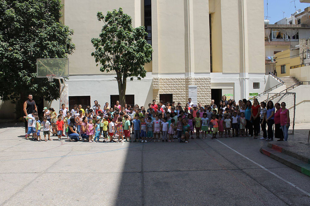 Daily Vacation Bible School in Nor-Marash Church