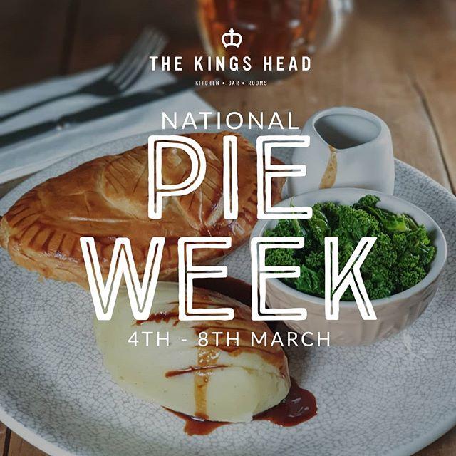 This week its #nationalpieweek so enjoy a different pie every day with us!! • • • • #pie #pienmash #britishgrub #britishfood #gastropubskent #gastropub #tasteofkent #yummy #delish #sogood #pastry